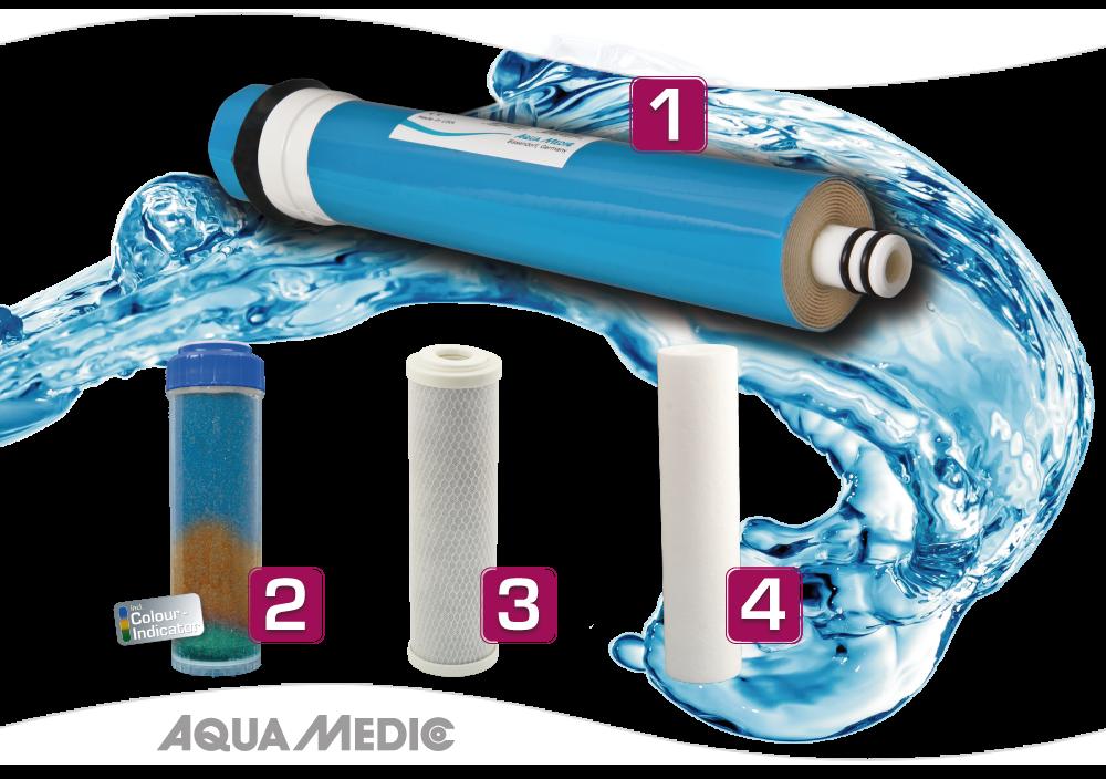 "Aqua Medic Combined filter cartridge 10"" housing 13"