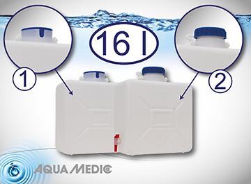 Aqua Medic refill depot 16 l with cut-out and cap 11